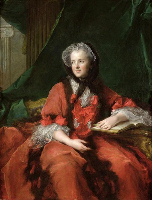 Мадам Мария Лещинская (1703-1768). Жан-Марк Натье