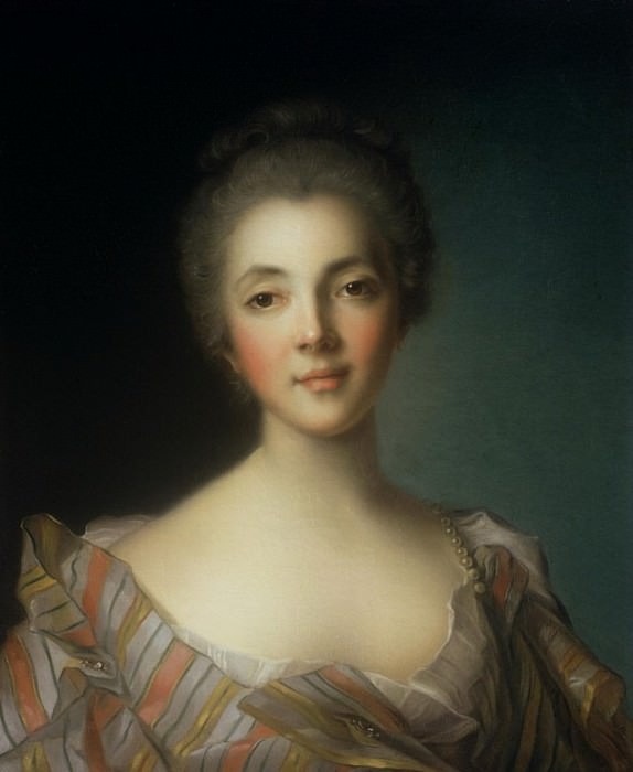 Portrait of Madame Dupin (1706-1795). Jean Marc Nattier