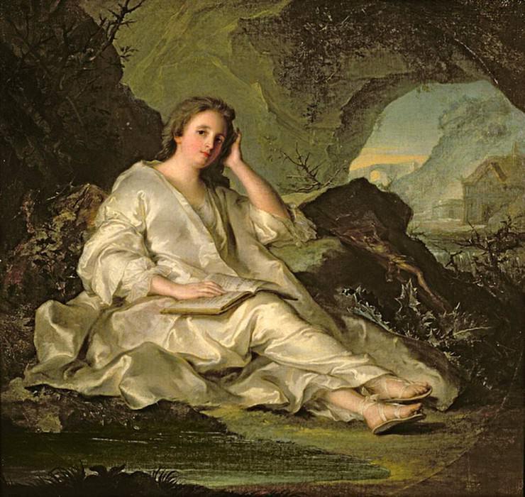 The Penitent Magdalene. Jean Marc Nattier