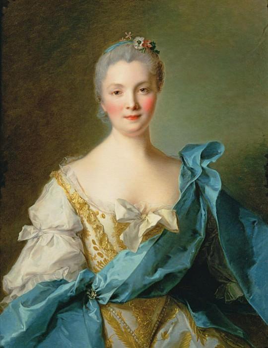 Madame de la Porte. Jean Marc Nattier
