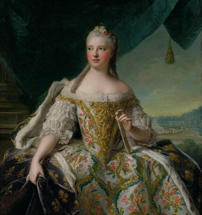 Dauphine Marie-Josephe de Saxe (1731-1767). Jean Marc Nattier