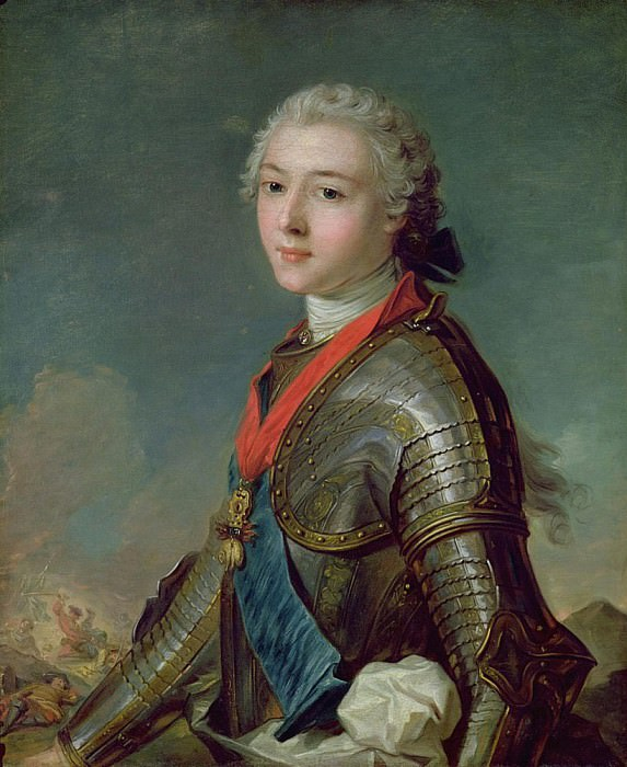 Louis Jean Marie de Bourbon (1725-93) Duke of Penthievre. Jean Marc Nattier