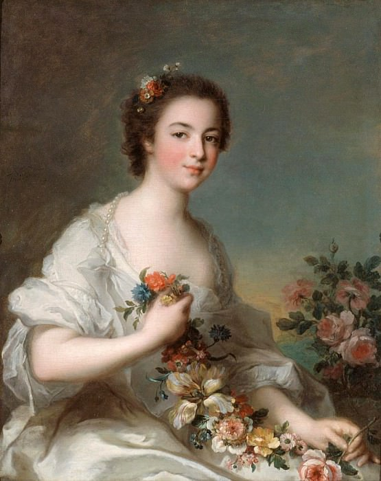 Portrait of a Lady. Jean Marc Nattier