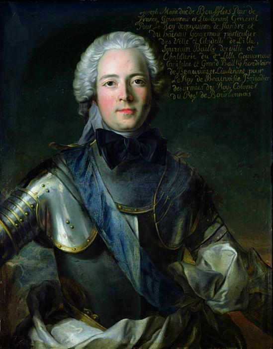 Joseph-Marie (1706-1747), Duc de Boufflers. Jean Marc Nattier
