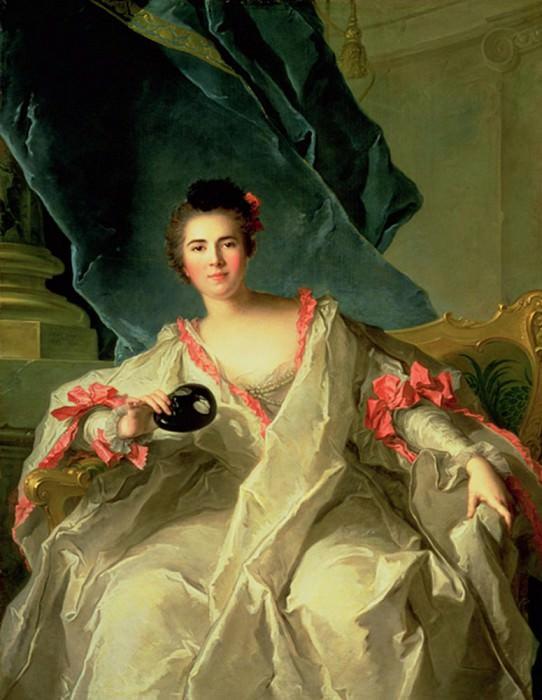 Portrait of la Marquise de la Ferte-Imbault. Jean Marc Nattier