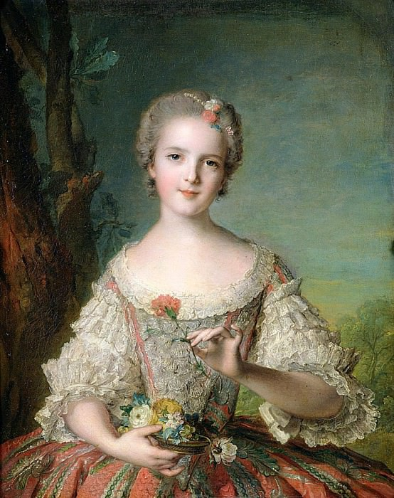 Portrait of Madame Louise de France (1737-87) at Fontevrault. Jean Marc Nattier