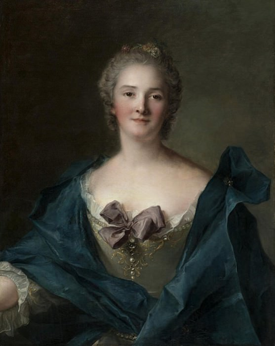 Portrait of a Woman. Jean Marc Nattier