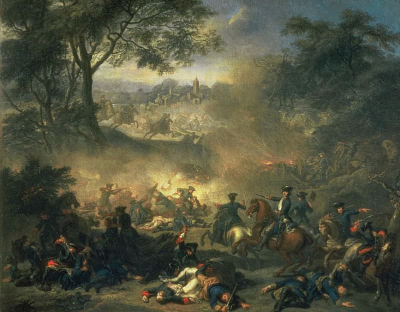 The Battle of Poltava in 1709. Jean Marc Nattier