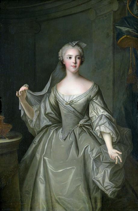 Madame Sophie de France (1734-1782), as a Vestal Virgin. Jean Marc Nattier