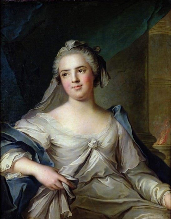 Madame Henriette as a Vestal Virgin. Jean Marc Nattier