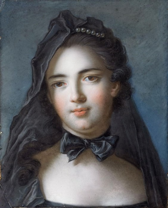 The Princess of Beauveau, nee Sophie Charlotte de la Tour D'Auvergne. Jean Marc Nattier