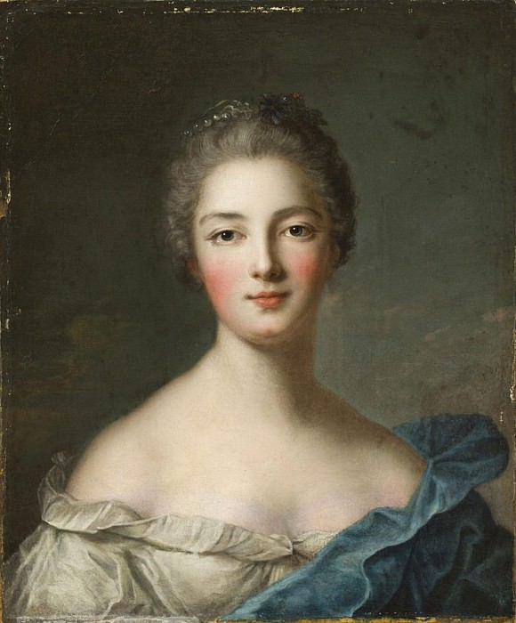 Portrait of a lady. Jean Marc Nattier