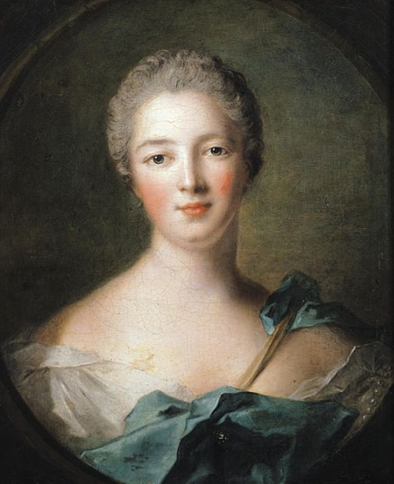 Madame de Pompadour (1721-1764). Jean Marc Nattier