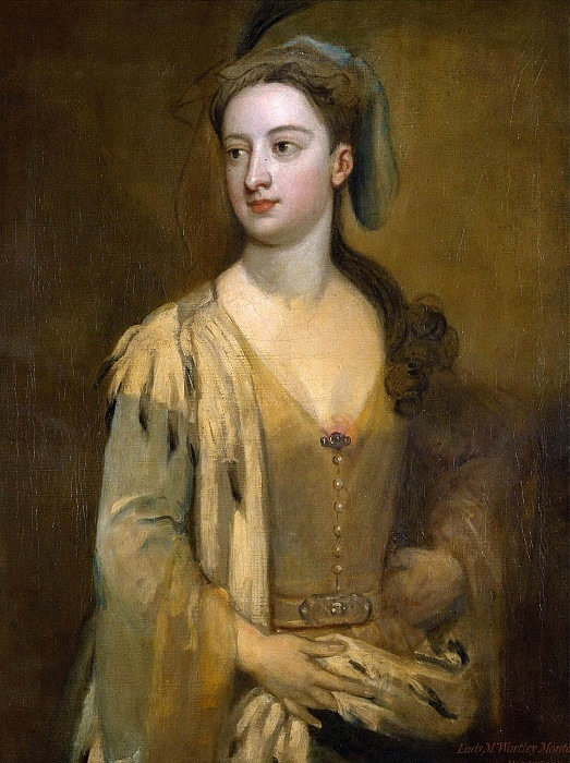 A Woman, called Lady Mary Wortley Montagu. Sir Godfrey Kneller