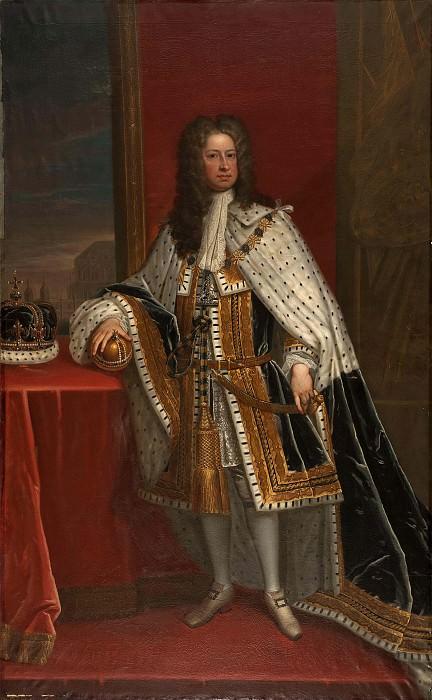 Георг I (1660-1727), король Англии, курфюрст Ганновера. Сэр Годфри Неллер (Мастерская)