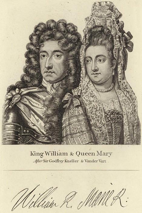 Король Уильям и Королева Мария. Сэр Годфри Неллер