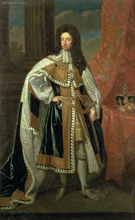 Король Вильгельм III (1650-1702). Сэр Годфри Неллер