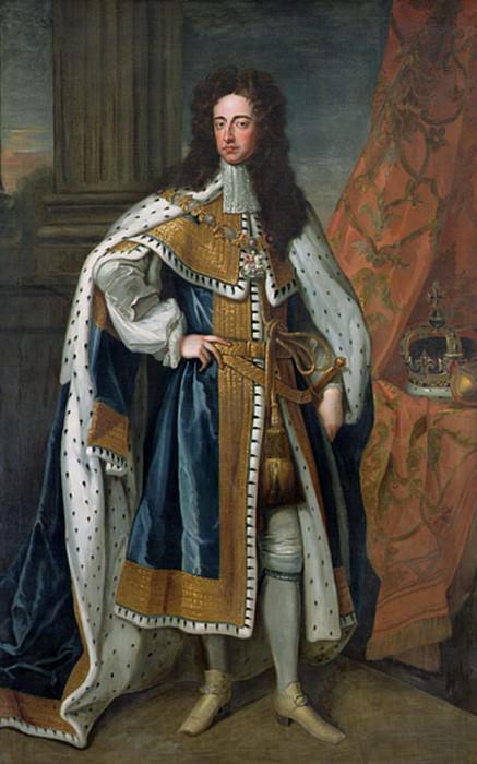 Вильгельм III (1650-1702), Оранский. Сэр Годфри Неллер
