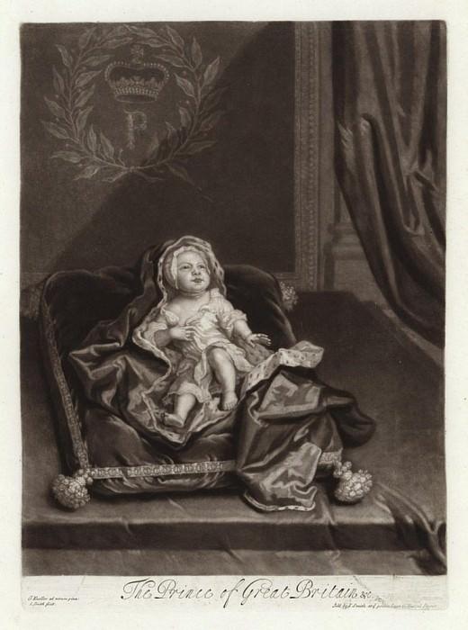 Принц Джеймс Стюарт, в детском возрасте. Сэр Годфри Неллер