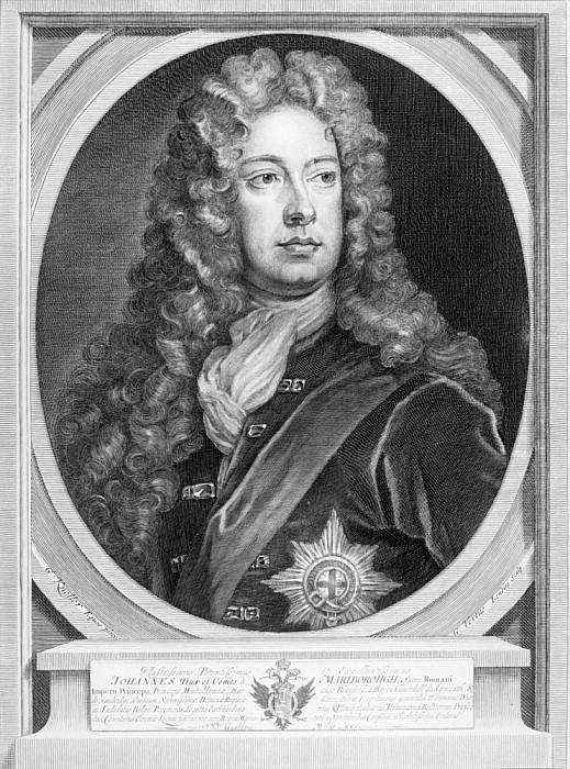 Джон Черчилль (1650-1722) 1-й герцог Мальборо. Сэр Годфри Неллер