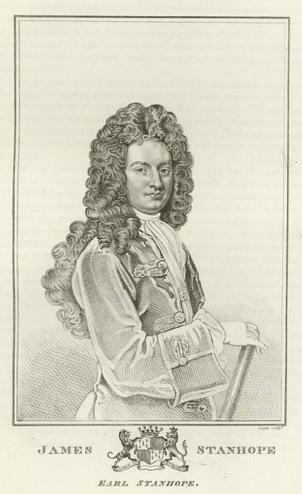 James Stanhope, Earl Stanhope. Sir Godfrey Kneller