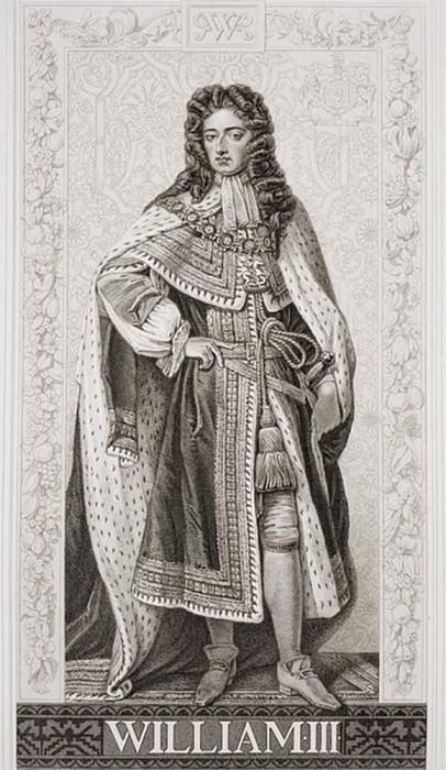 Вильгельм III (1650-1702), из «Иллюстрации английской и шотландской истории» Том II. Сэр Годфри Неллер