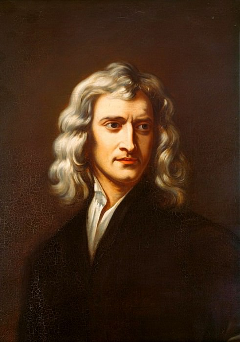 Sir Isaac Newton (1642-1723). Sir Godfrey Kneller