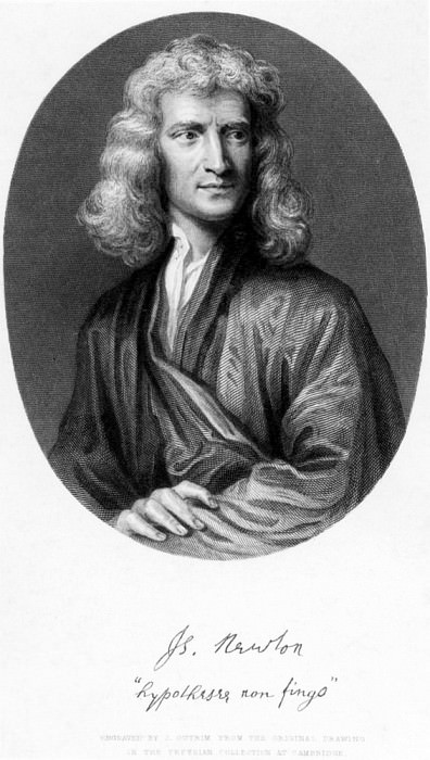Сэр Исаак Ньютон. Сэр Годфри Неллер