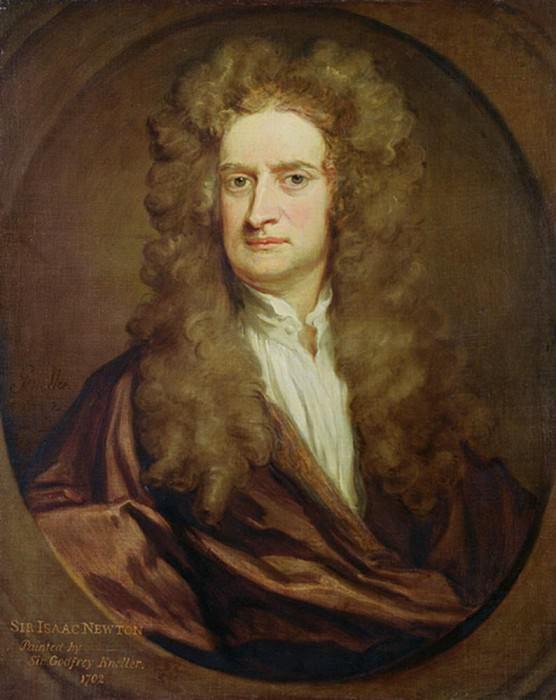 Исаак Ньютон (1642-1727). Сэр Годфри Неллер