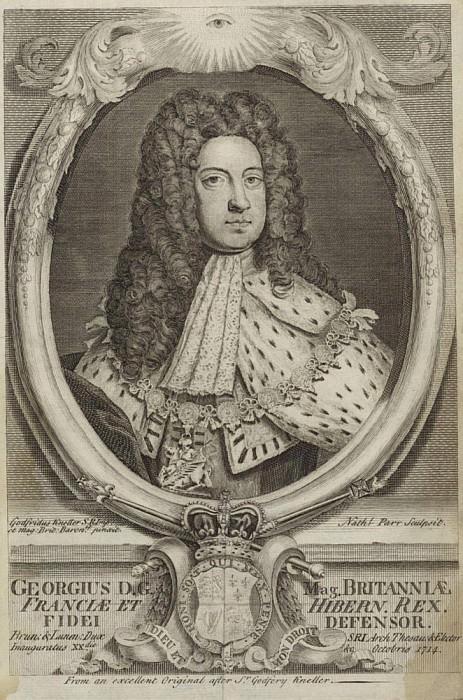 Георг I, Король Великобритании и Ирландии. Сэр Годфри Неллер