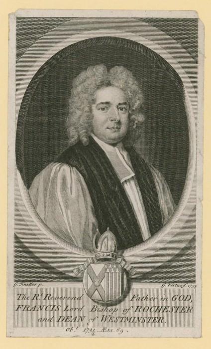Преосвященный Отец, Френсис Лорд епископ Рочестерский и декан Вестминстера. Сэр Годфри Неллер