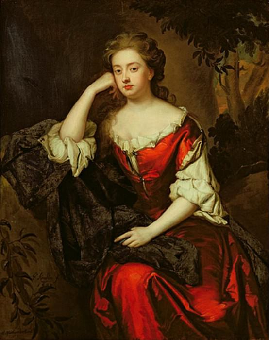 Portrait of Catherine Lucy (d.1714), Duchess of Northumberland. Sir Godfrey Kneller