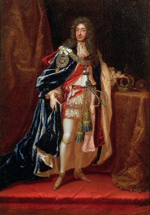 Джеймс II (1633-1701). Сэр Годфри Неллер