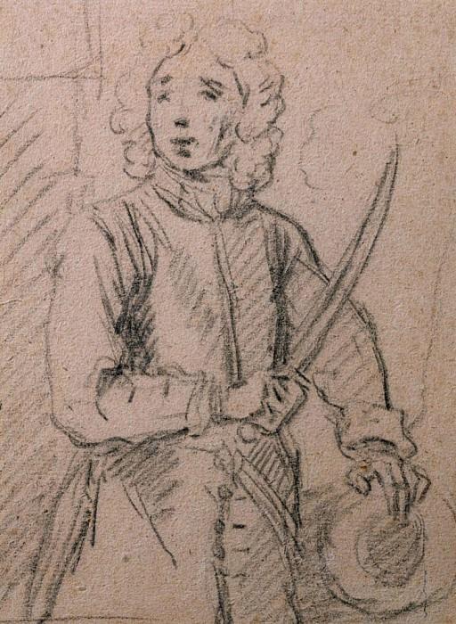 Эскиз для портрета вице-адмирала Джона Бенбоу (1653-1702). Сэр Годфри Неллер