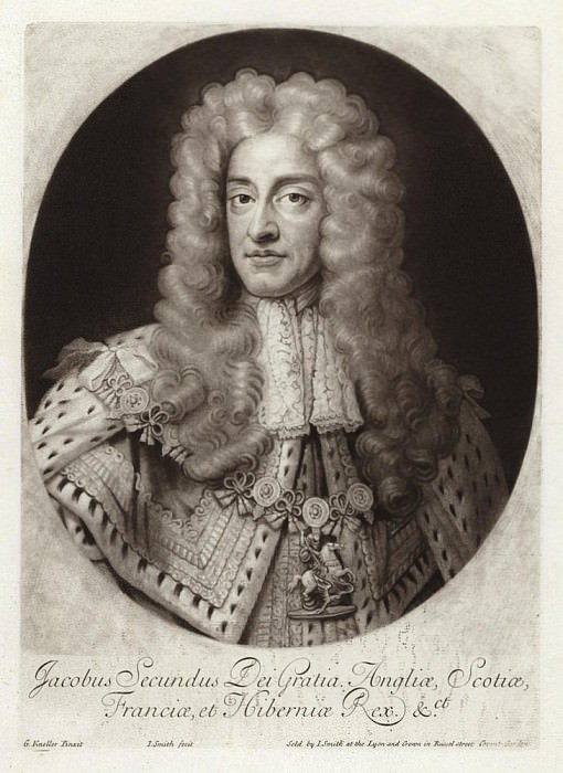 Джеймс II, Король Англии и Ирландии. Сэр Годфри Неллер