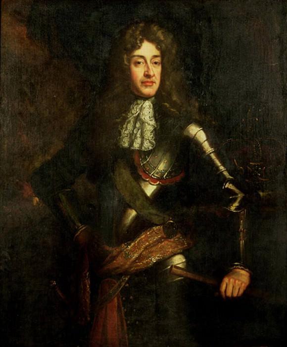 Король Джеймс II (1633-1701), в доспехах. Сэр Годфри Неллер