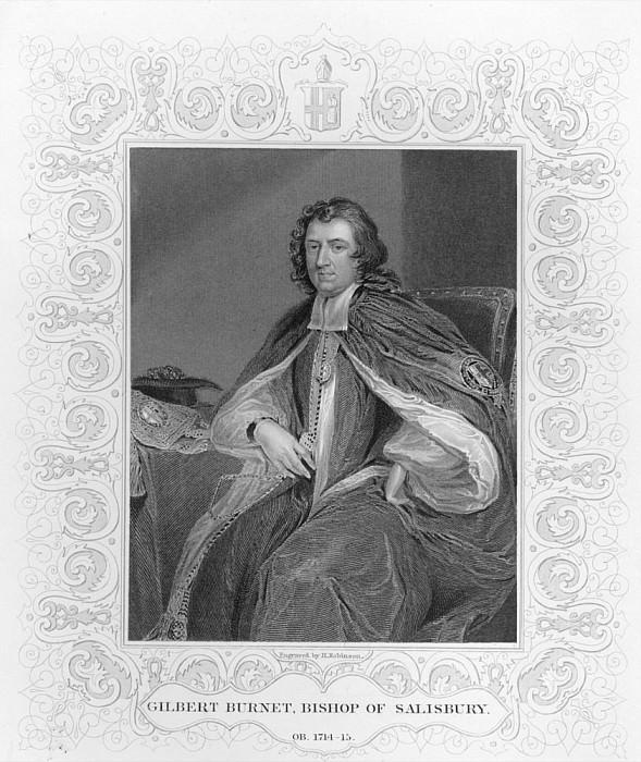 Гилберт Бёрнет, епископ Солсбери. Сэр Годфри Неллер