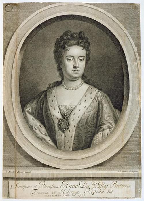 Королева Анна (1665-1714). Сэр Годфри Неллер