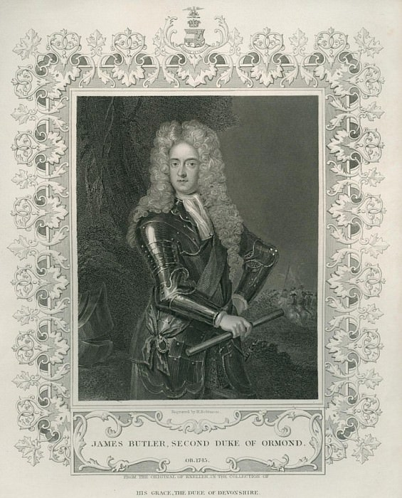 Джеймс Батлер, 2-й герцог Ормонд. Сэр Годфри Неллер