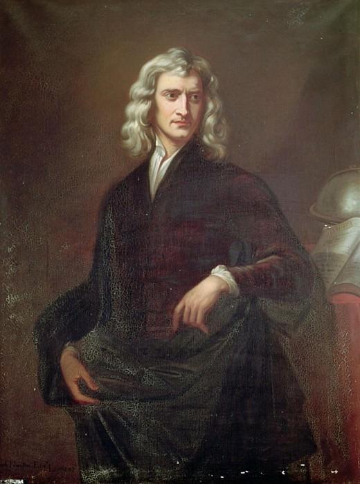 Сэр Исаак Ньютон (1642-1723). Сэр Годфри Неллер