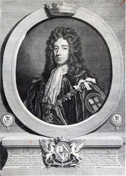 Джеймс Дуглас, 2-й герцог Куинсберри. Сэр Годфри Неллер