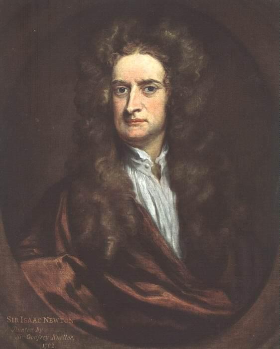 Исаак Ньютон, 1702. Сэр Годфри Неллер