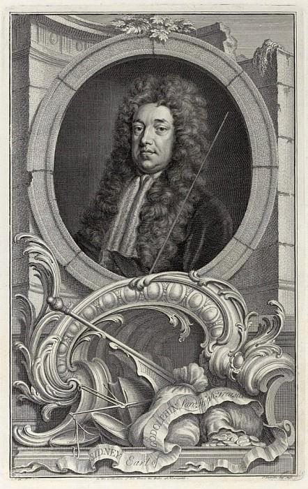 Сидни, граф Годолфин, казначей в коллекции его светлости герцога Ньюкасла. Сэр Годфри Неллер