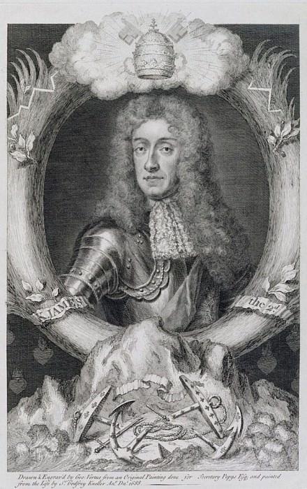 Джеймс VII, Король Шотландии и Англии как Джеймс II (1633-1701). Сэр Годфри Неллер