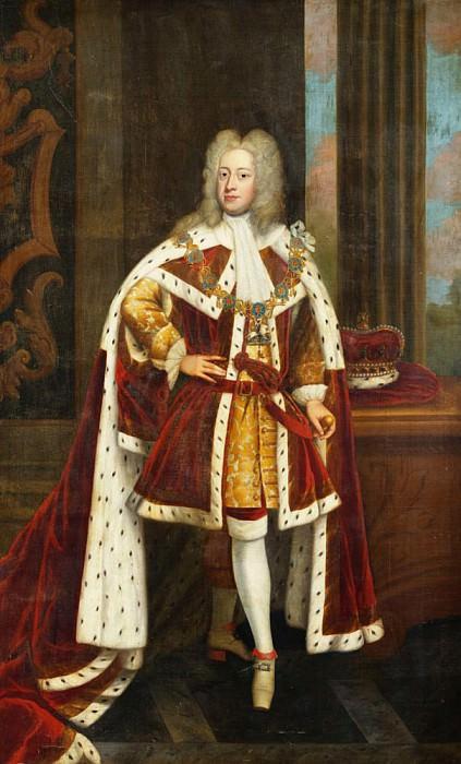 Король Георг II, в то время - принц Уэльский. Сэр Годфри Неллер