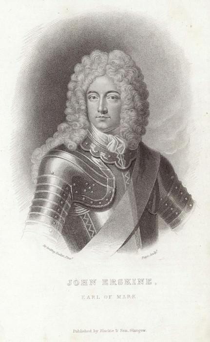 Portrait of John Erskine. Sir Godfrey Kneller