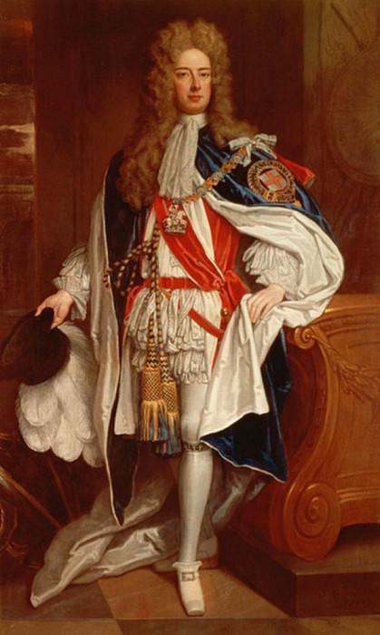 The Duke of Marlborough in Garter Robes. Sir Godfrey Kneller