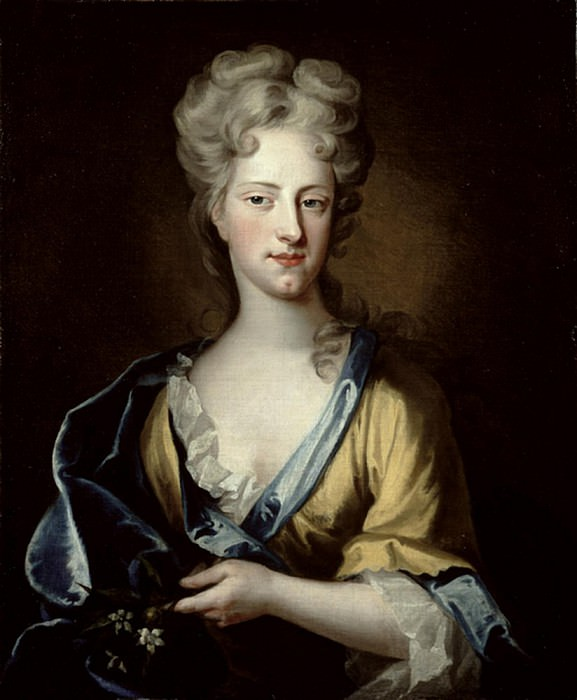 Portrait of Abigail Hill (d.1734) Lady Masham. Sir Godfrey Kneller