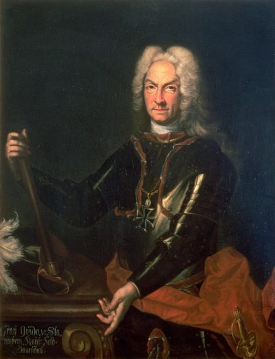 Фельдмаршал граф Гидоболд фон Старемберг (1654-1737), австрийский военачальник. Сэр Годфри Неллер