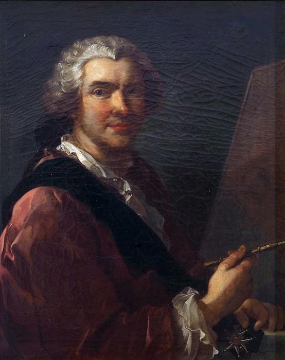 Self-portrait. Charles-Joseph Natoire